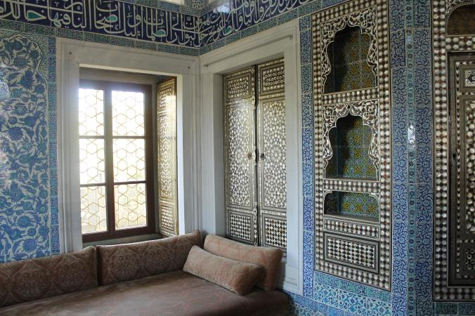 The Harem in Topkapi Palace.