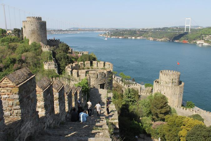 The Rumeli Fortress.