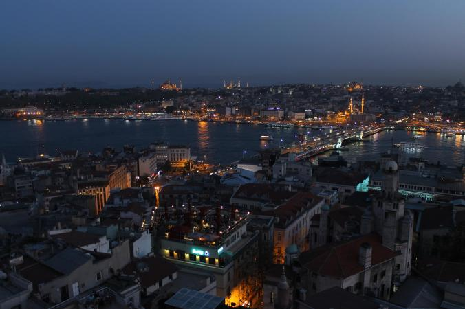 View from the Galata tower.