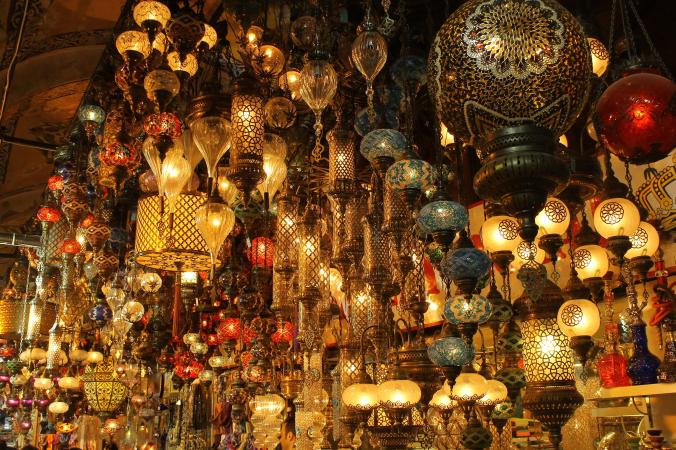 LAnterns at Grand Bazaar.