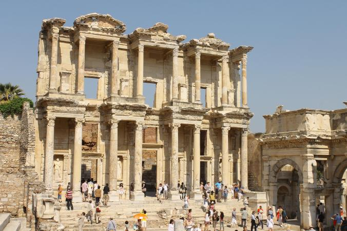 The ancient Library of Ephesus