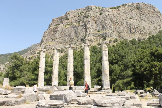 The gorgeous setting of Priene.