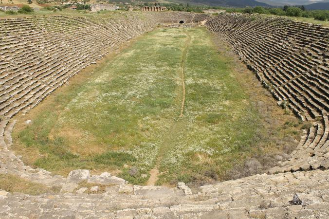 Stadium at Aphrodisias.
