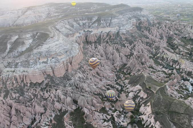 Balloon ride at Cappadocia