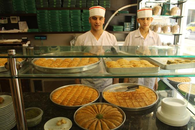 Gaziantep, the baklava city.
