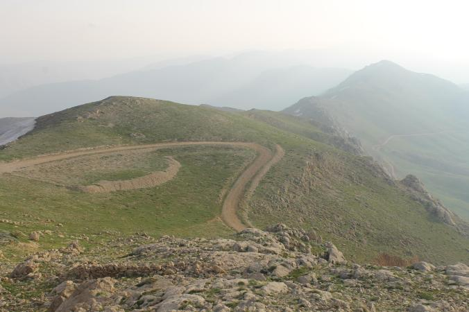 The way upto Nemrut.