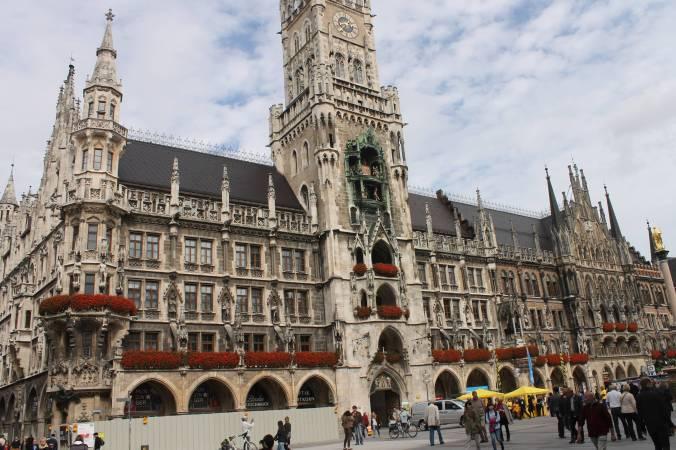 Munich Rathaus.