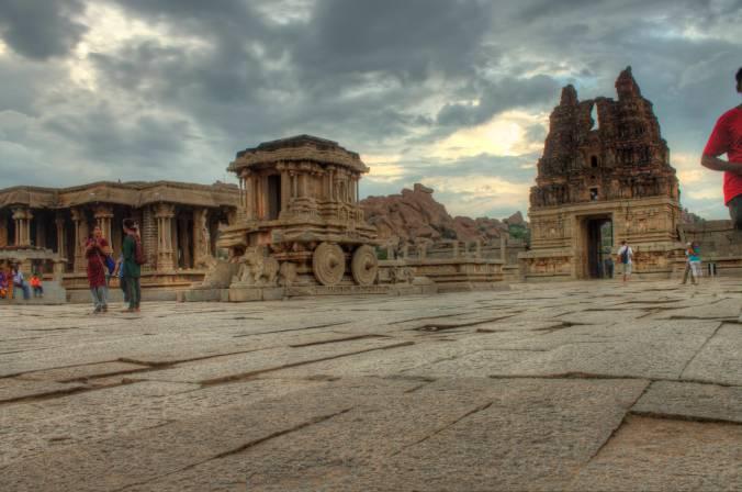 Vitthala Mandir chariot.