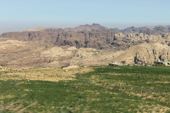 The King's Highway, between Petra and Wadi Rum