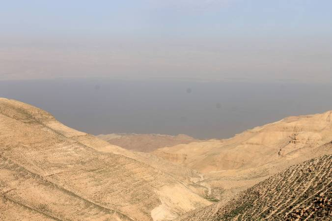 Mukawir overlooking the Dead Sea